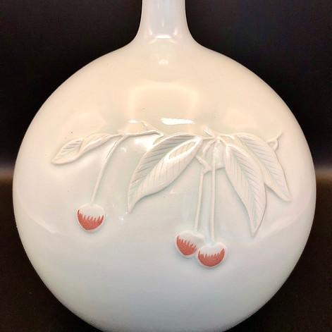 Shin Sang Ho Round Vase With Slender Flaring Neck