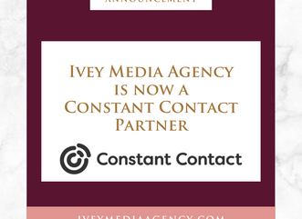 Ivey Media Agency is Now a Constant Contact Partner