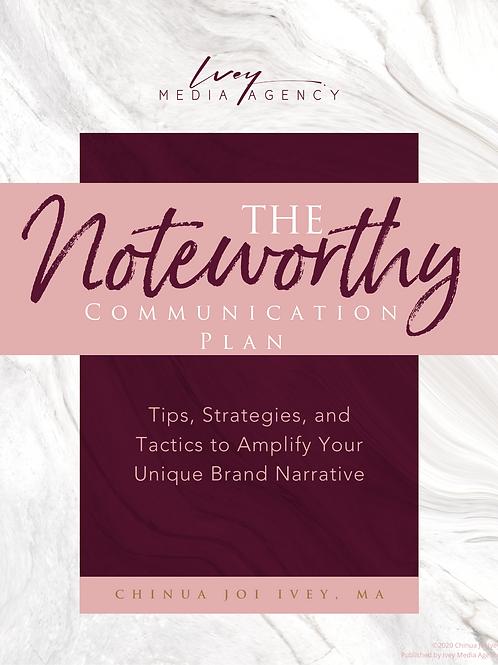 The Noteworthy Mini Mag - Communication Plan