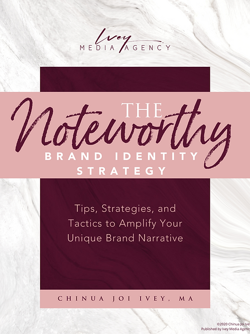 The Noteworthy Mini Mag - Brand Identity Strategy
