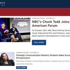 IMA Founder and President Featured by American University For Entrepreneurial Success