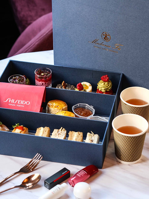High Tea Takeaway for two - SHISEIDO x Madame Fù - 'The Ultimate Moment'