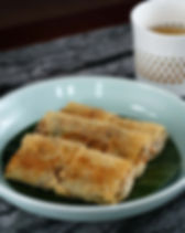 Pan-fry Vegetable Beancurd Roll 素腐皮卷_2.j