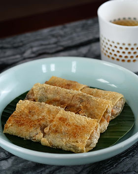 Pan-fry Vegetable Beancurd Roll 素腐皮卷_2.j