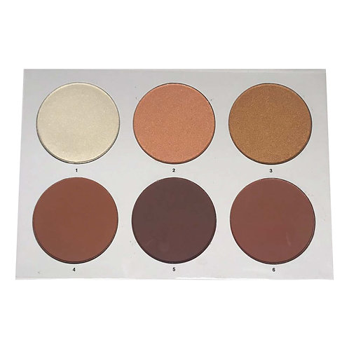 SATINE CONTOUR AND HIGHLIGHT PALETTE