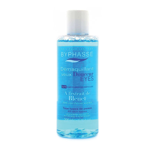 BYPHASSE DESMAQUILLANTE CON EXTRACTO DE ACIANO 200ML