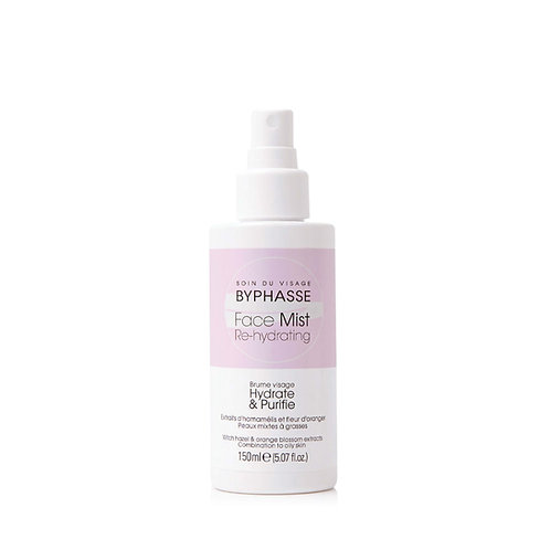 BYPHASSE FACE MIST RE-HYDRATING PIEL MIXTA Y GRASA 150ML