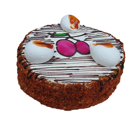 """Торт """"Медовий з чорносливом"""""""