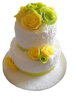"Торт ""Yellow Rose"""