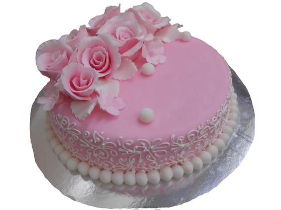 "Торт ""Pink Rose"""
