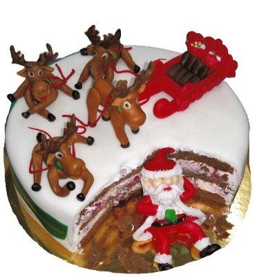 Новорічний торт
