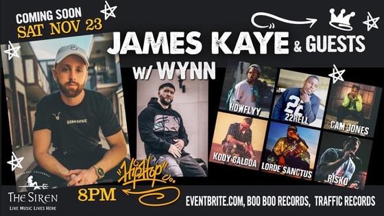 James Kaye & Friends Live @ The Siren in Morro Bay Nov. 23rd