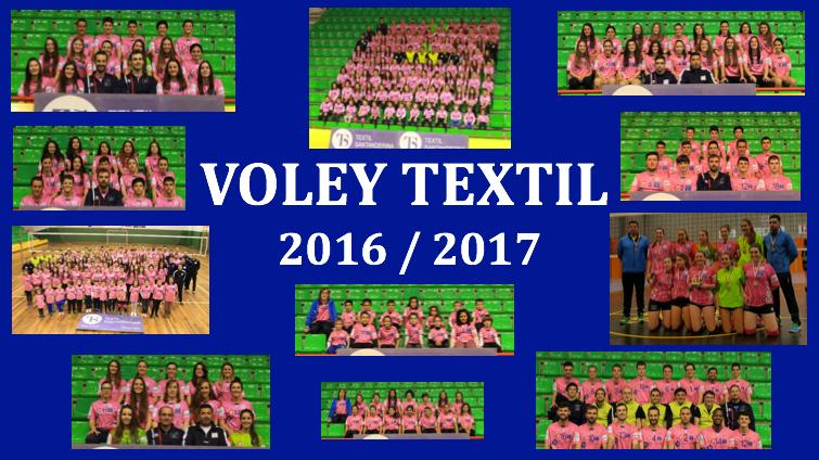 Equipo Voley Textil 2016 / 2017