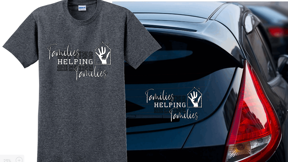 Families helping families promo package