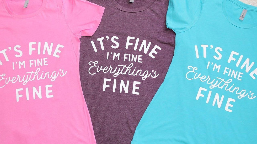 It's fine . Colourful ladies tee