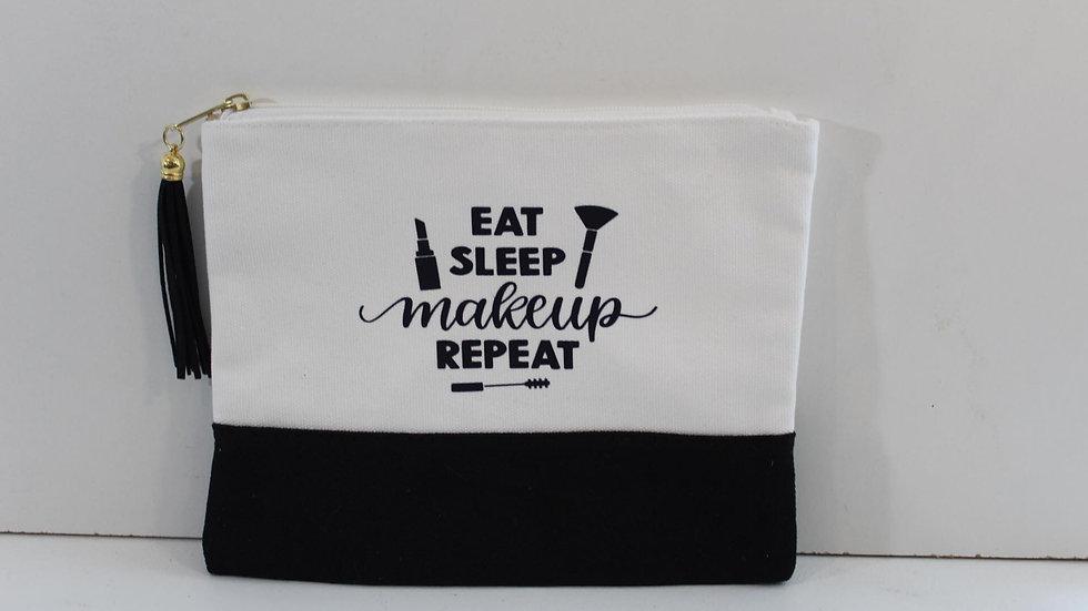 Eat, Sleep, Makeup Bag