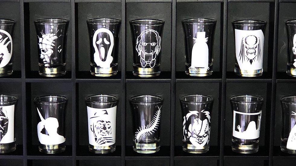 Individual shot glasses