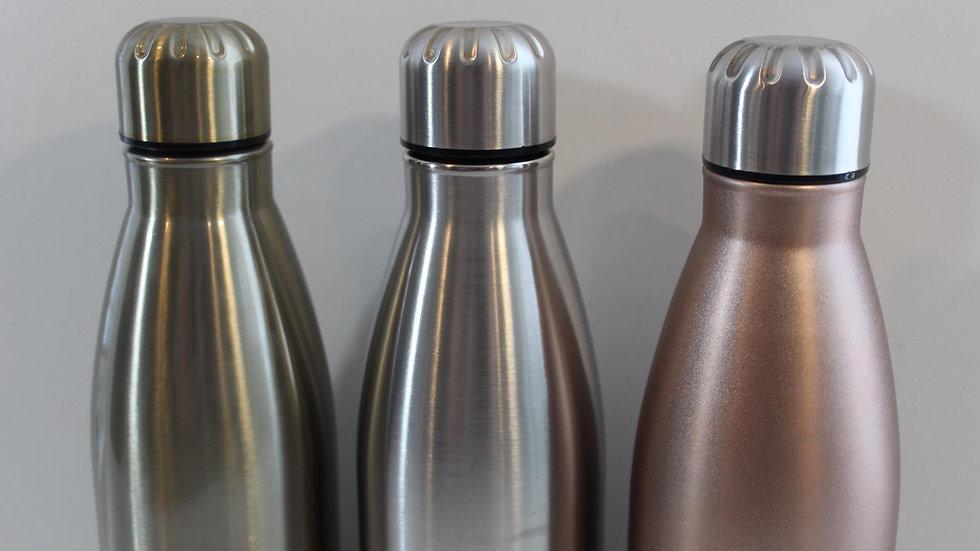stainless steel custom water bottle