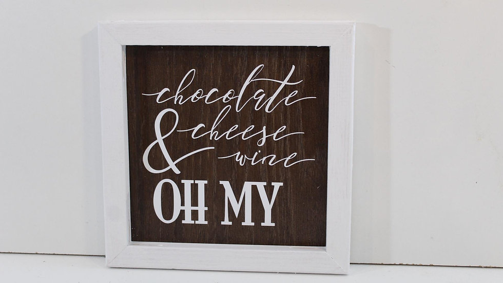 oh my wooden wall decor
