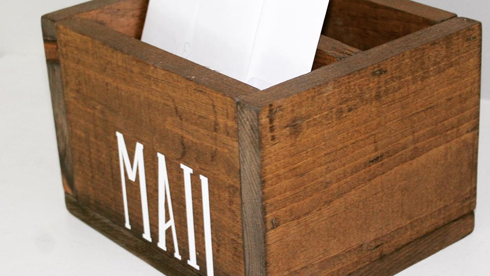 mail & bill box