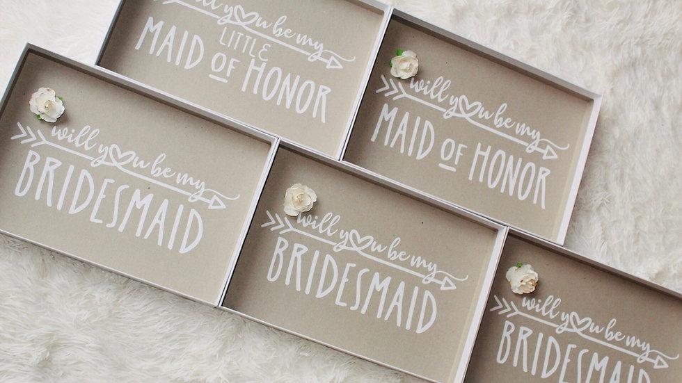 Custom bridal boxes