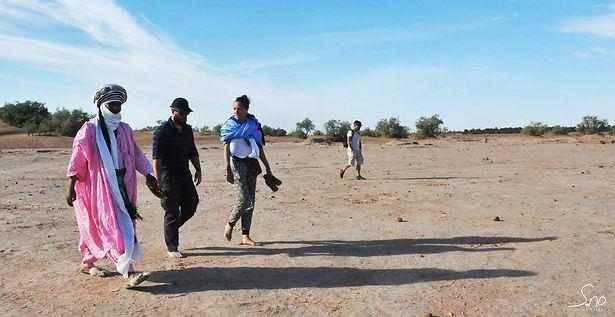 Randonnee desert