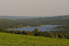 Lac Lindsay été