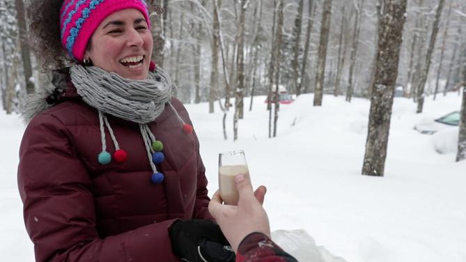 Vidéo d'hiver