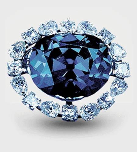 The Famous 45.52 Blue 'Hope Diamond'