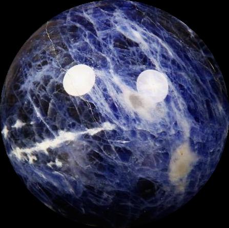Sodalite Crystal Ball