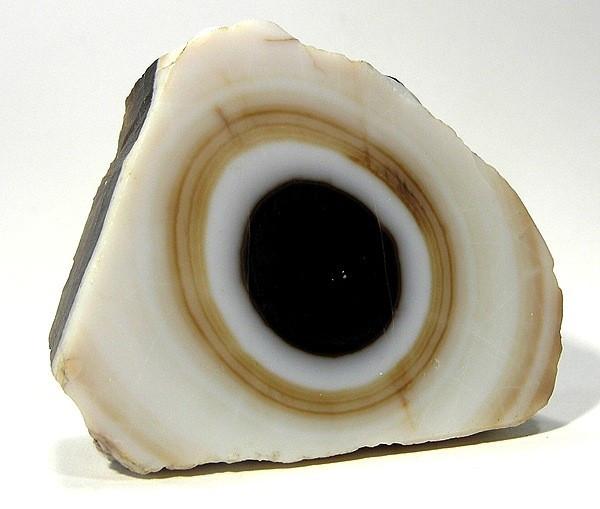 Eye Agate Showing Bullseye