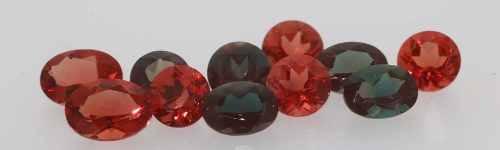 Cut Andesine Gemstones