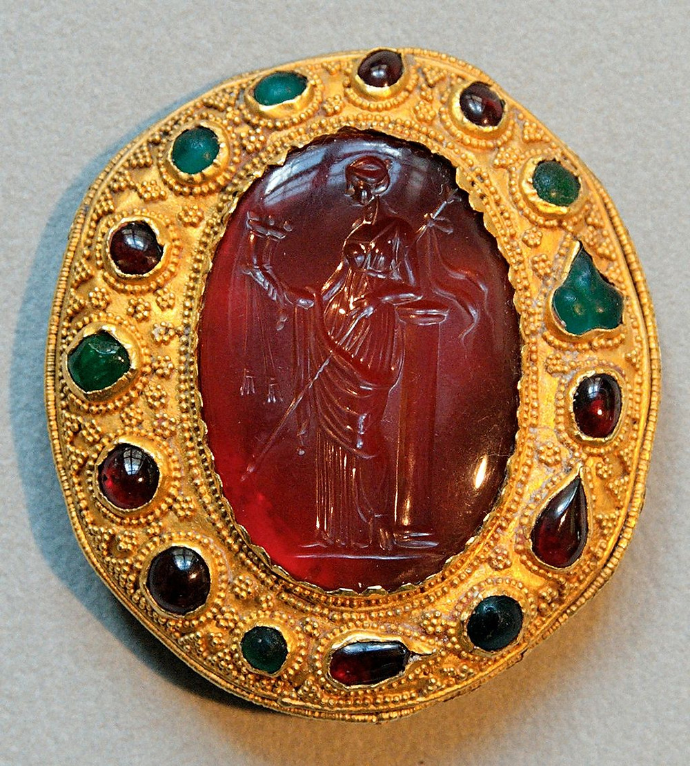 2000 year-old Carnelian Intaglio Jewellery Ornament