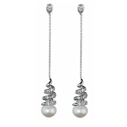 Prive Bridal Athena Pearl Earrings