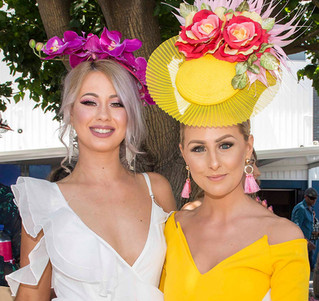 Spring Racing Fashion on the Fields