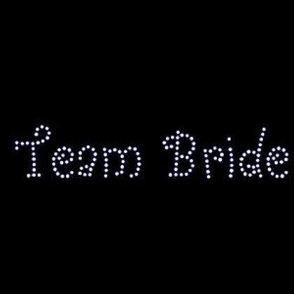 Rhinestone Transfer - Team Bride
