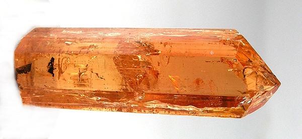 Uncut Hyacinth Gemstone, Orange Topaz Crystall