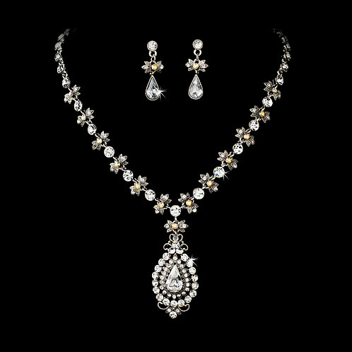 Crystal Renaissance Necklace Set