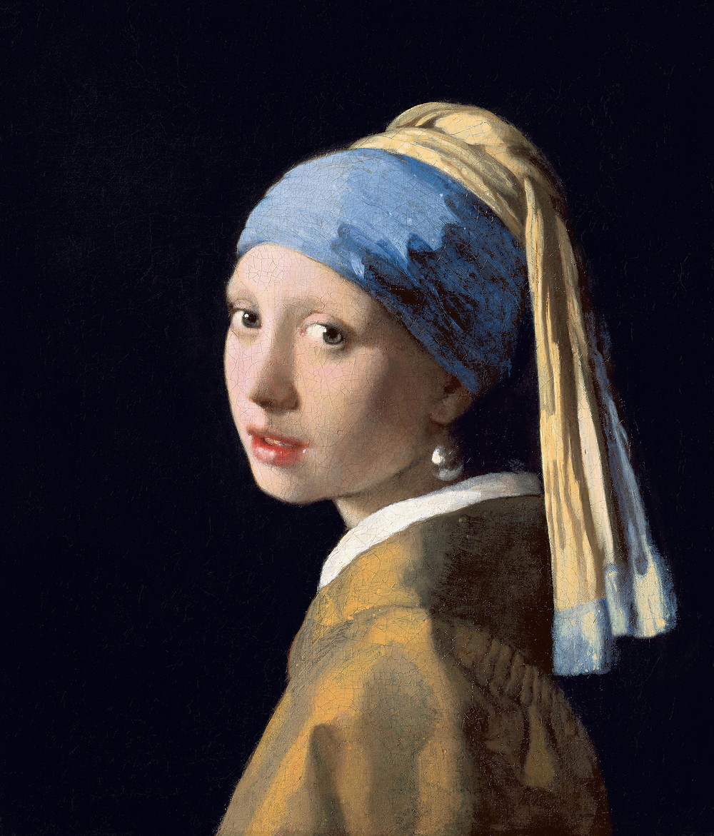 Portrait of The Girl In The Pearl Earring by Vemeer