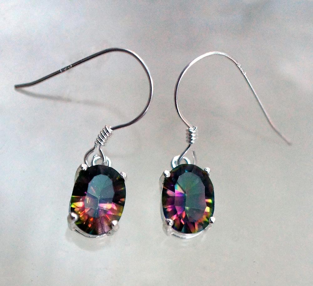 Mystic Topaz Earrings