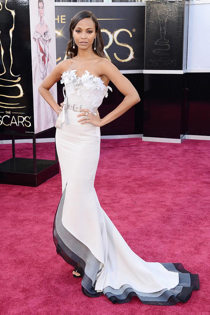 Zoe Saldana, Oscars 2013