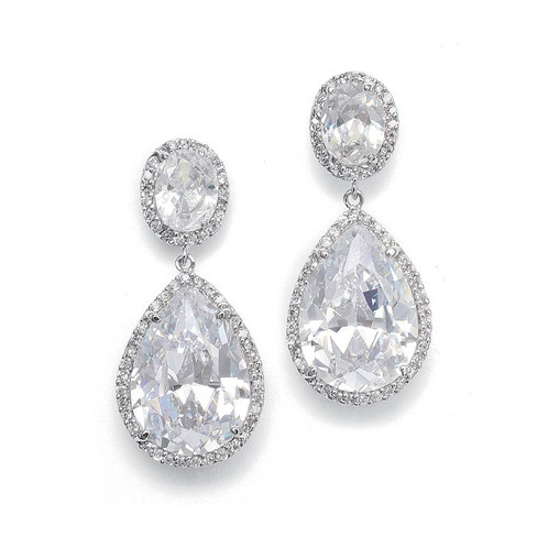 earrings nordstrom crystal product rack cz drop nadri pear shop of pave image
