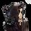 Long chandelier crystal clip-on earrings