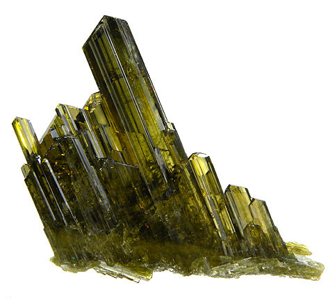 Epidote Crystal Structure