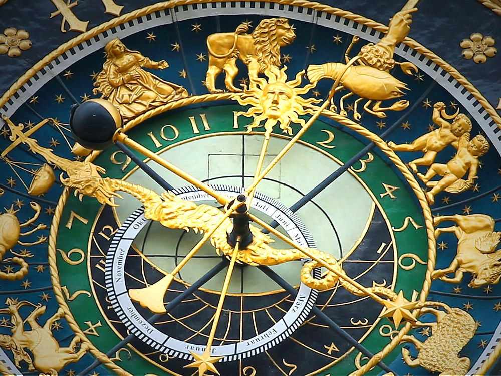 Astronomical Zodiac Clock