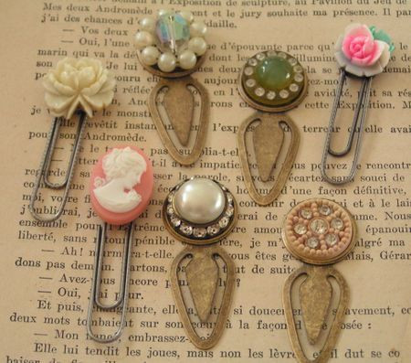 Clip On Earring Bookmarks