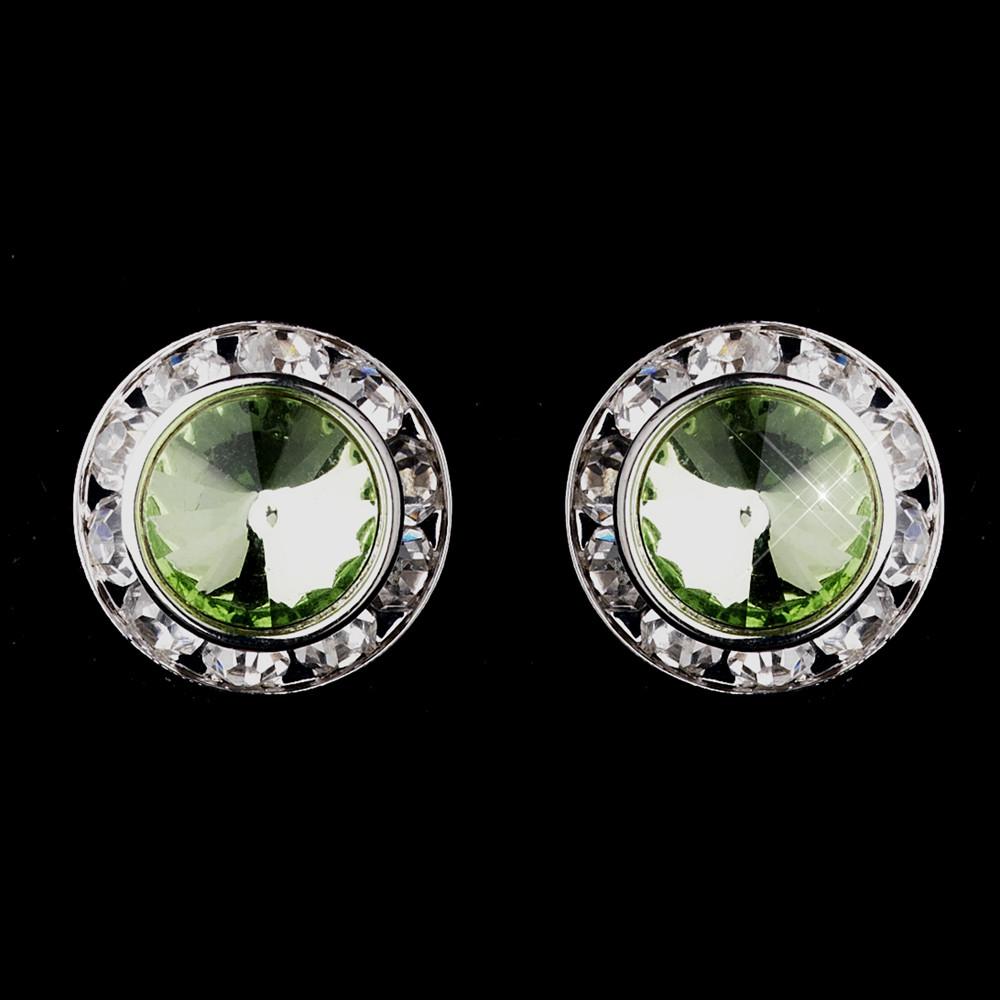 August Birthstone Peridot Earrings from Alyssum Jewellery