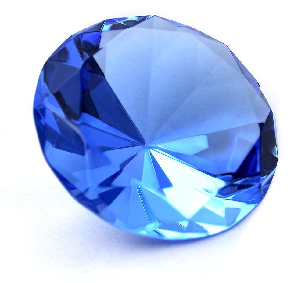 September Birthstone Sapphire Gem