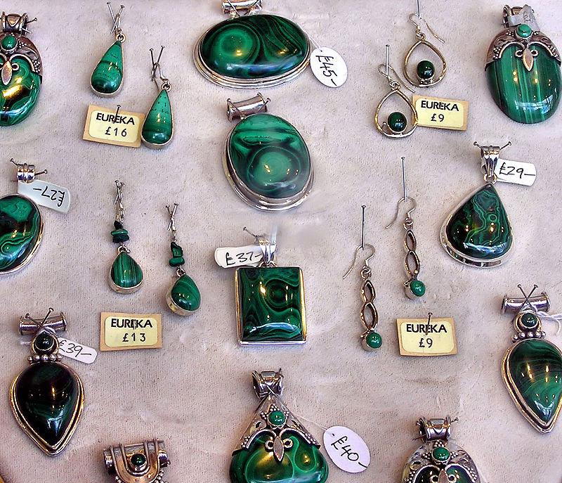 Malachite Artisan Jewellery