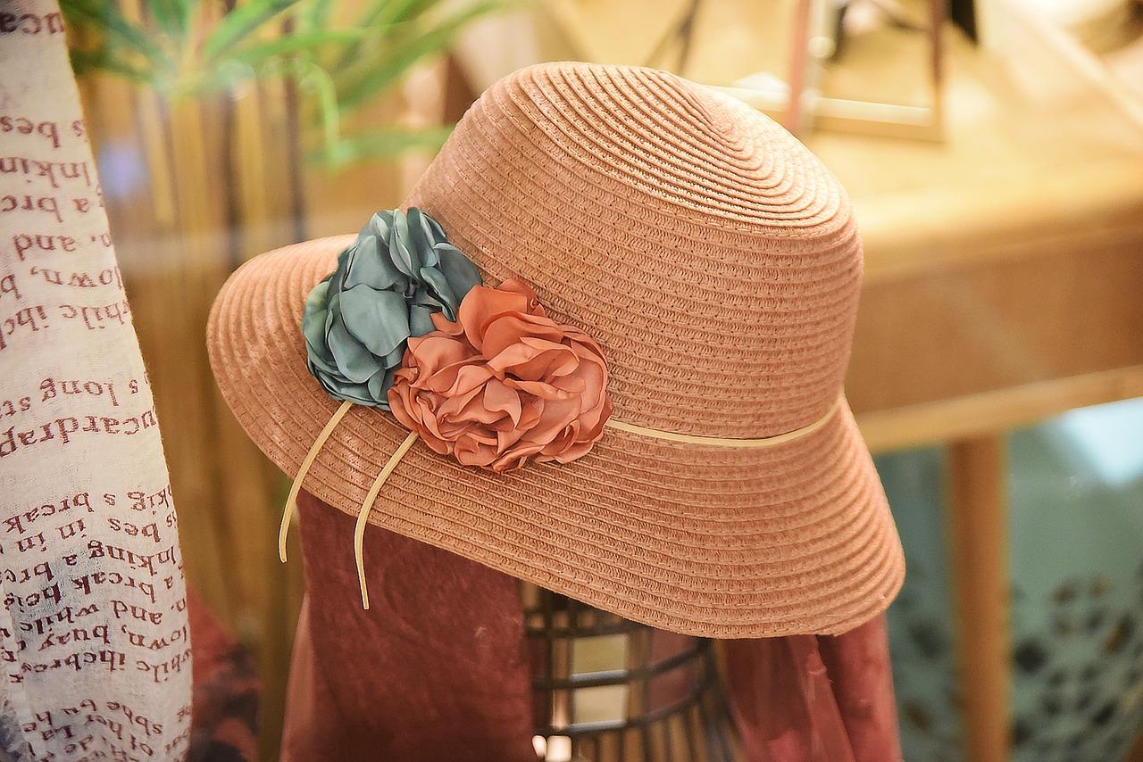 Terracotta Woven Hat